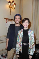 Designers Pierre Alexis Hermet and Marion Lalanne