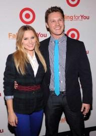 Kristen Bell and Zachary Abel