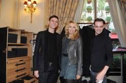 "Alexandra Golovanoff and ""Les Garcons Paris"""