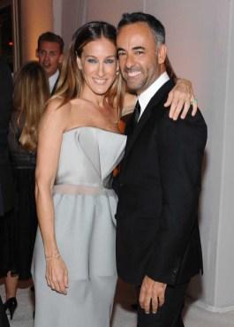 Sarah Jessica Parker and Francisco Costa