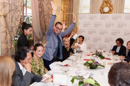 2012 Dorchester Collection Fashion Prize Shortlist Session