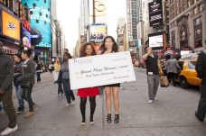 2012 Grand Prize Winners at Times Square