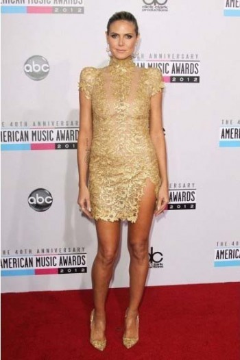 Heidi Klum American Music Awards 2012
