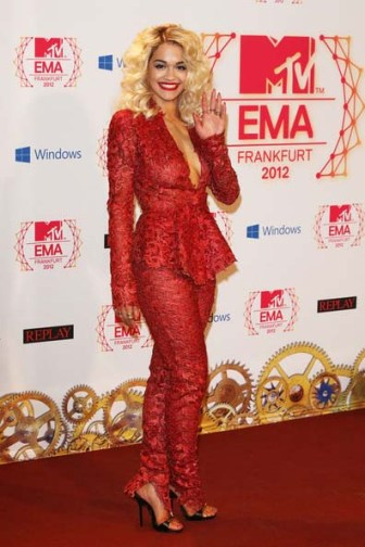 Rita Ora at the MTV EMA