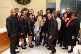 Kristin Chenoweth with the New Boys and Girls Choir of Harlem