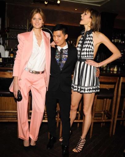 Anja Rubik, Bryan Boy, Karlie Kloss
