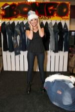 Actress Ashley Benson Kicks Off Holiday Season With Bongo Graffi