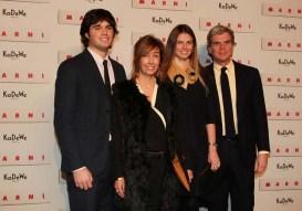 Giovanni, Consuelo, Carolina and Gianni Castiglioni