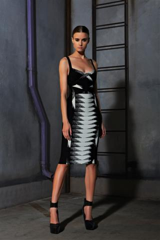 Herve Leger Pre-Fall 2013 26