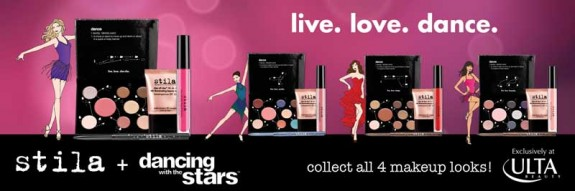 STILA COSMETICS DANCING WITH THE STARS