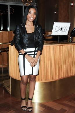 """""""Keana Parks at the BCBGMAXAZRIA Runway and Herve Leger by Max Azria Spring 2014 exclusive after party"""""""