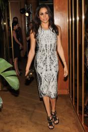 """""""Meghan Markle at the BCBGMAXAZRIA Runway and Herve Leger by Max Azria Spring 2014 exclusive after party"""""""