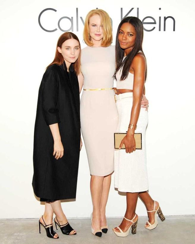 Rooney Mara, Nicole Kidman, Naomie Harris