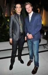 Ethan Peck and Nathan Keyes