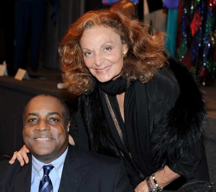 Jeffrey Banks and Diane Von Furstenberg