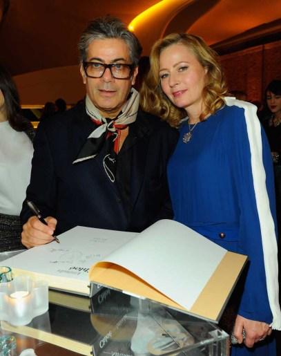 Marc Ascoli and Sarah Mower