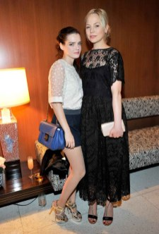 Roxanne Mesquida and Adelaide Clemens