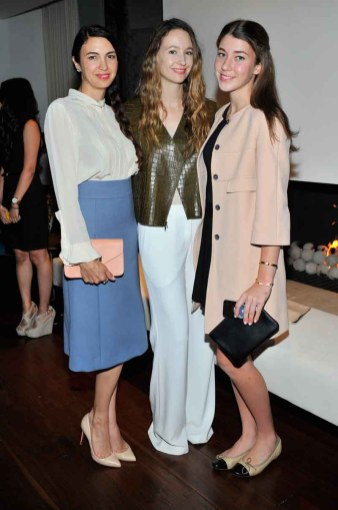 Shiva Rose, Jenni Kayne and Colette Rose McDermot