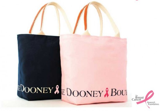 dooney and bourke pink tote