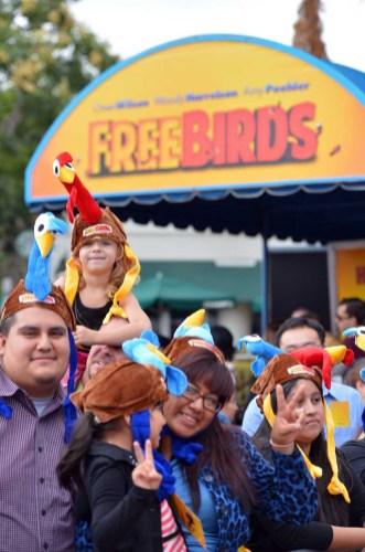 "Premiere Of Relativity Media's ""Free Birds"" - Red Carpet"