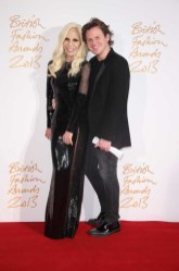 Donatella Versace & Christopher Kane (winner, Womenswear Designer of the Year)