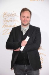 Nicholas Kirkwood (winner, Red Carpet Designer of the Year)