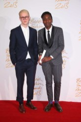 Sam Cotton & Agi Mdumulla (Agi & Sam) (winners, Emerging Menswear Designer)