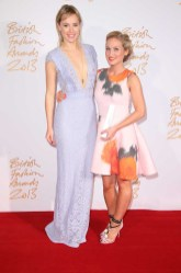 Suki Waterhouse & Sophia Webster (winner, Emerging Accessories Designer)