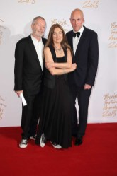 Terry & Tricia Jones (winners, BFC Outstanding Achievement in Fashion) & Dylan Jones