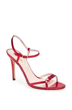 Brigitte Sandal Red Specchio - $355