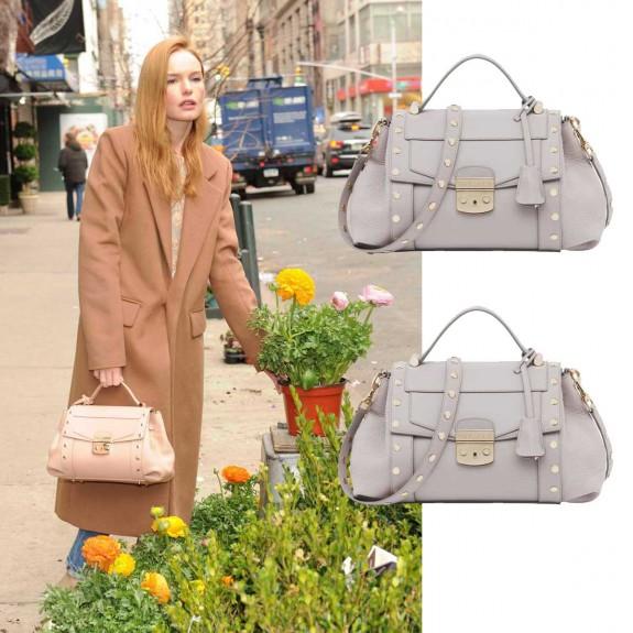 Kate Bosworth Trussardi Lucinda Bag 04