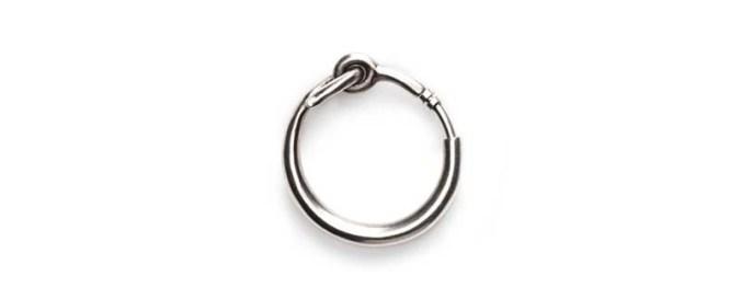 acne cordelia-silver-earring