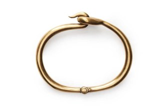 acne cory-antique-gold-bracelet