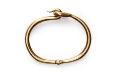 acne cory-antique-gold-bracelet