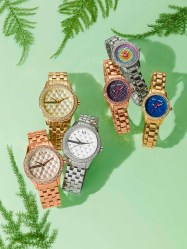 AlX ARMANI EXCHANGE WATCHES $160-$200, BETSEY JOHNSON WATCHES $69