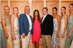 Badgley Mischka Fashion Event At Neiman Marcus With Host Camila Alves McConaughey