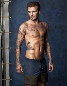 David Beckham swim for HM (1)