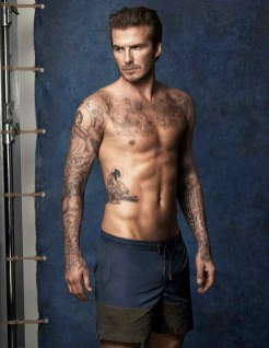 David Beckham swim for HM (1)
