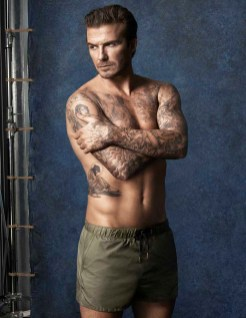 David Beckham swim for HM (3)