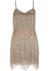 Beaded Fringe Dress