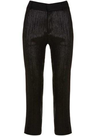 Tuxedo Lame Trousers - $130