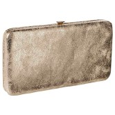 Merona Solid Hinge Wallet, Gold, $14.99