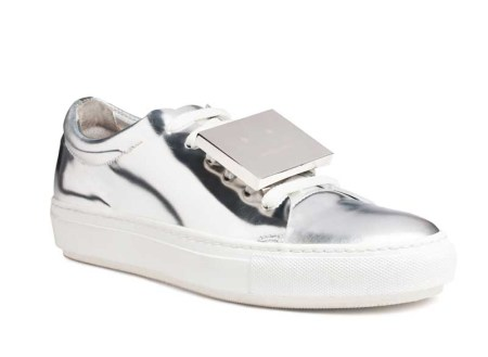 acne S14 adriana-metallic