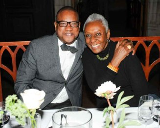Greg Cunningham and Bethann Hardison