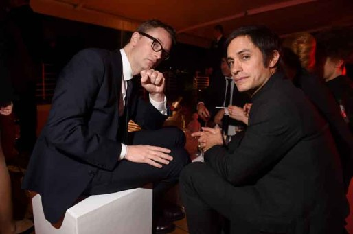 Nicolas Winding Refn and Gael García Bernal