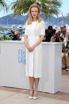 Nicole Kidman in Elie Saab shoes Cannes 2014