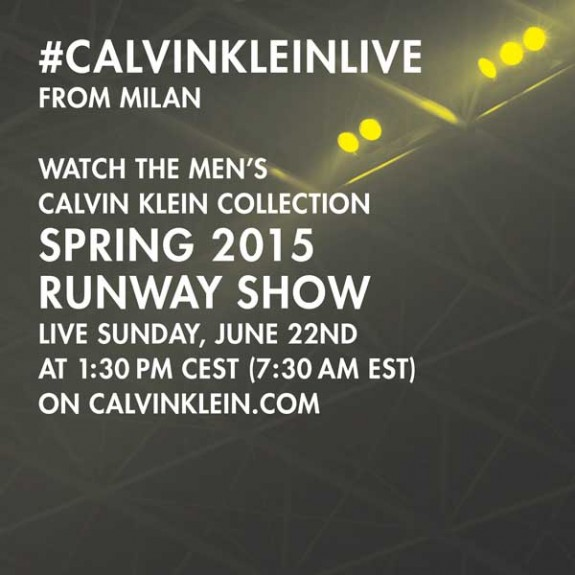 CK Collection MS15 livestream