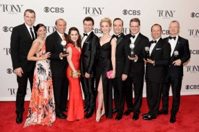 """Cast and crew of """"A Gentleman's Guide to Love and Murder"""""""