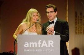 Fergie and Matt Bomer - both wearing Calvin Klein Collection