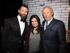 Hugh Jackman, Idina Menzel and Clint Eastwood